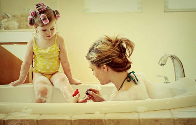Uma boa mãe ama os seus filhos