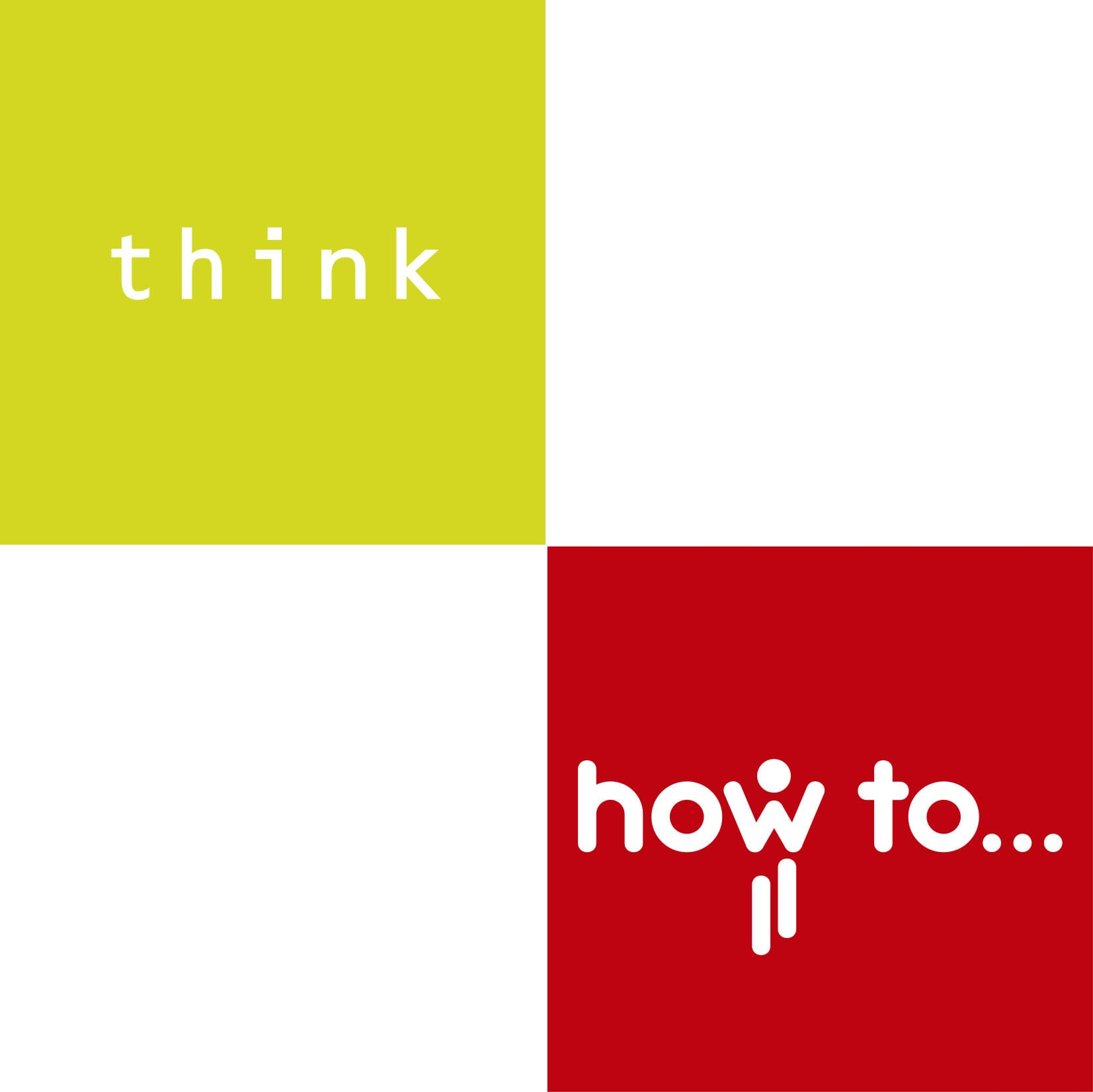 logo how to think