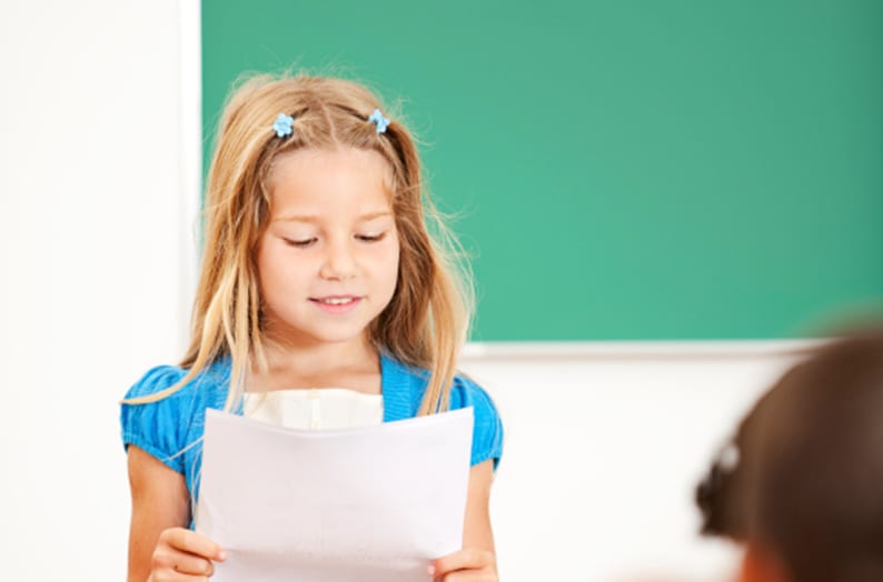 Ajudar o seu filho a apresentar as suas ideias