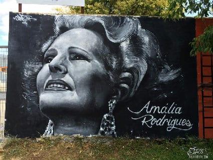 Tributo a Amália Rodrigues | Street Art | Damaia