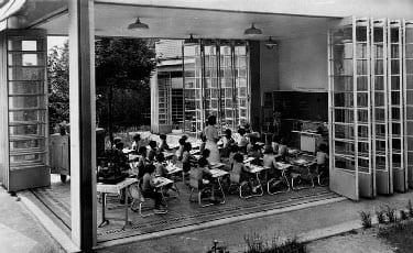 École de plein-air, Suresnes , Eugène Beaudouin et Marcel Lods, 1932-1935