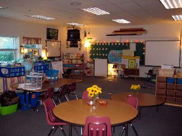Sala de aula Reggio Emilia