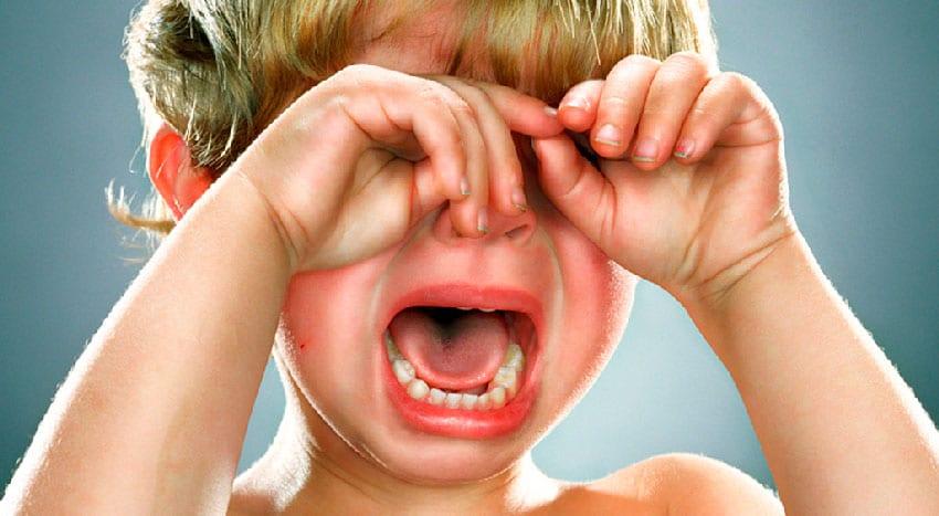Pára de chorar
