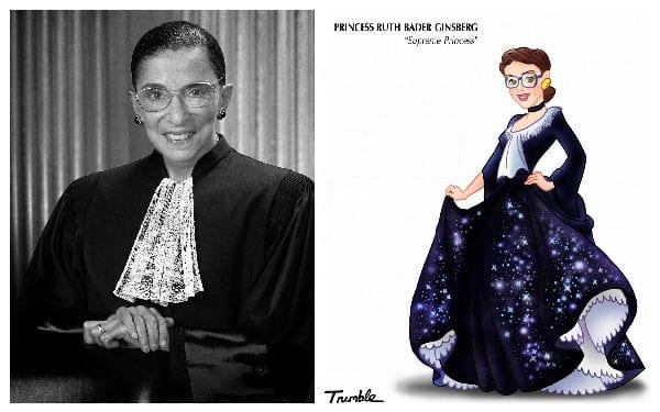 Princesa Ruth Bader Ginsburg