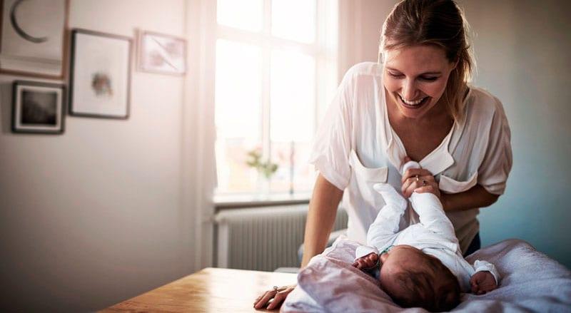 o nascimento de uma mãe