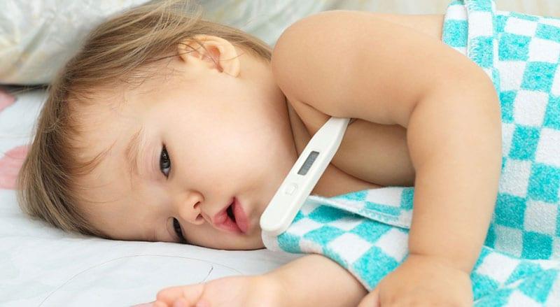 Febre na criança e adolescente - tudo o que precisa de saber