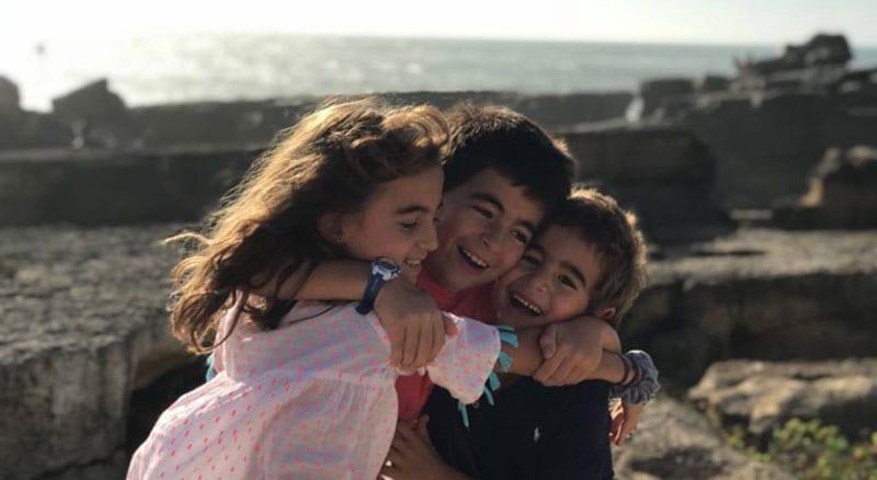 respirar gratidão pelas crianças